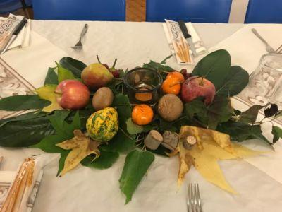 Cena tra le foglie