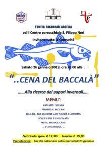 Cena del baccalà – 26/01