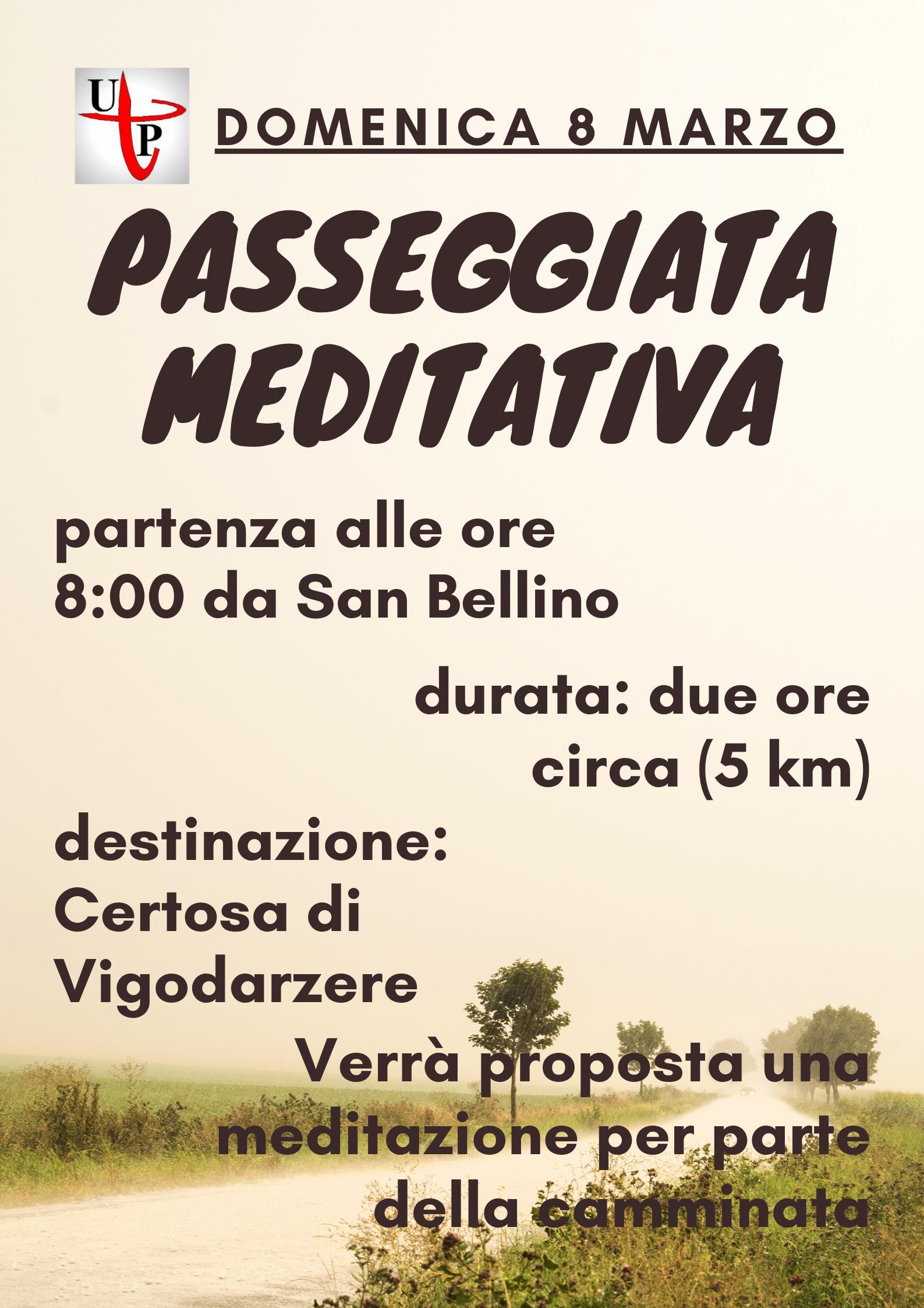 passeggiata meditativa